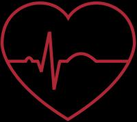 Icon mit Herz