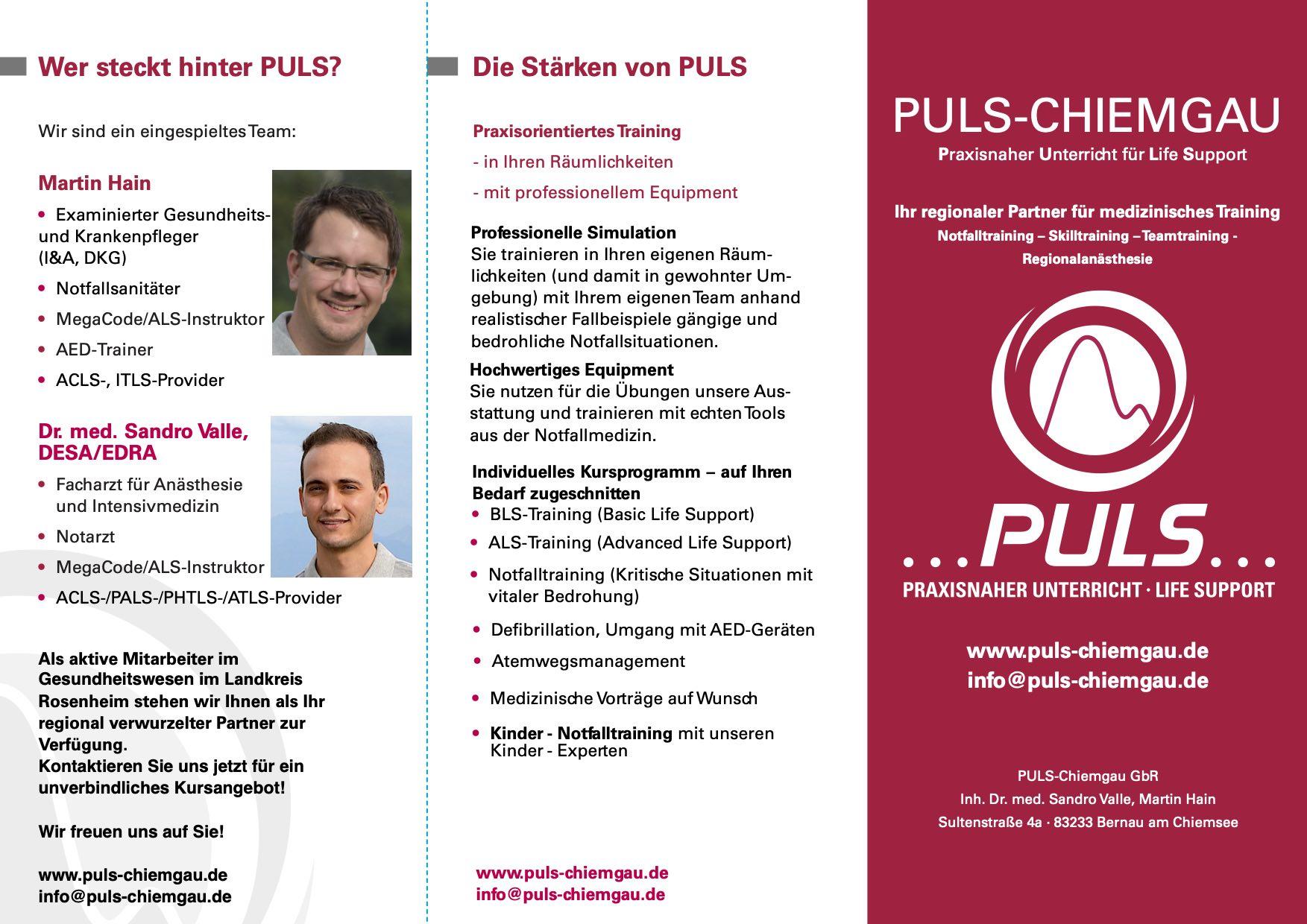 PULS WebFlyer